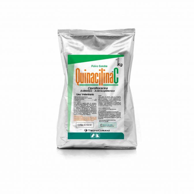 Quinacilina C  Antibiótico-Antimicoplásmico 1,10,20KG - My Farm Delivery Colombia