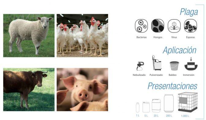 Desinfectante e Insecticida de amplio espectro | Sanivir 5 Litros - My Farm Delivery Colombia