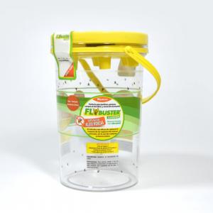 trampa atrapamoscas insecticida flybuster 50gr