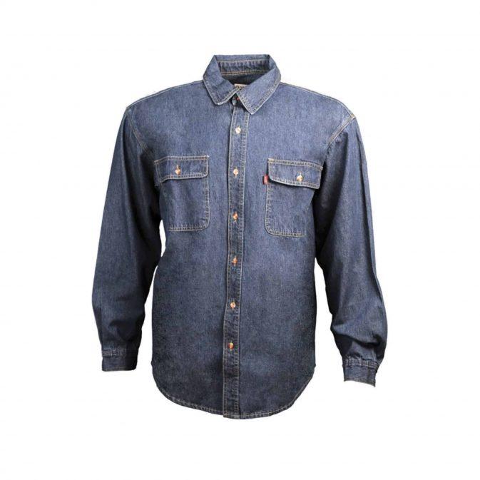 Camisa Jean hombre o dama manga larga - My Farm Delivery Colombia