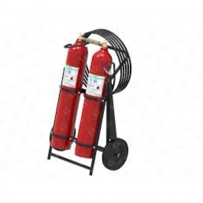 Extintor carretilla dos cilindros. - My Farm Delivery Colombia
