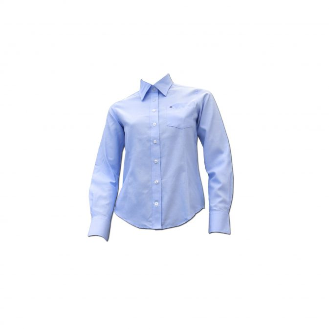 Camisa Oxford caballero o dama Azul, Blanco - My Farm Delivery Colombia