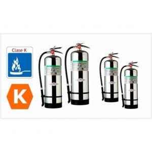 Extintor tipo K de acero para cocinas 1,2,3Kg - My Farm Delivery Colombia