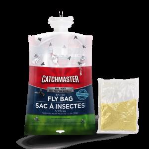 mata moscas en bolsa
