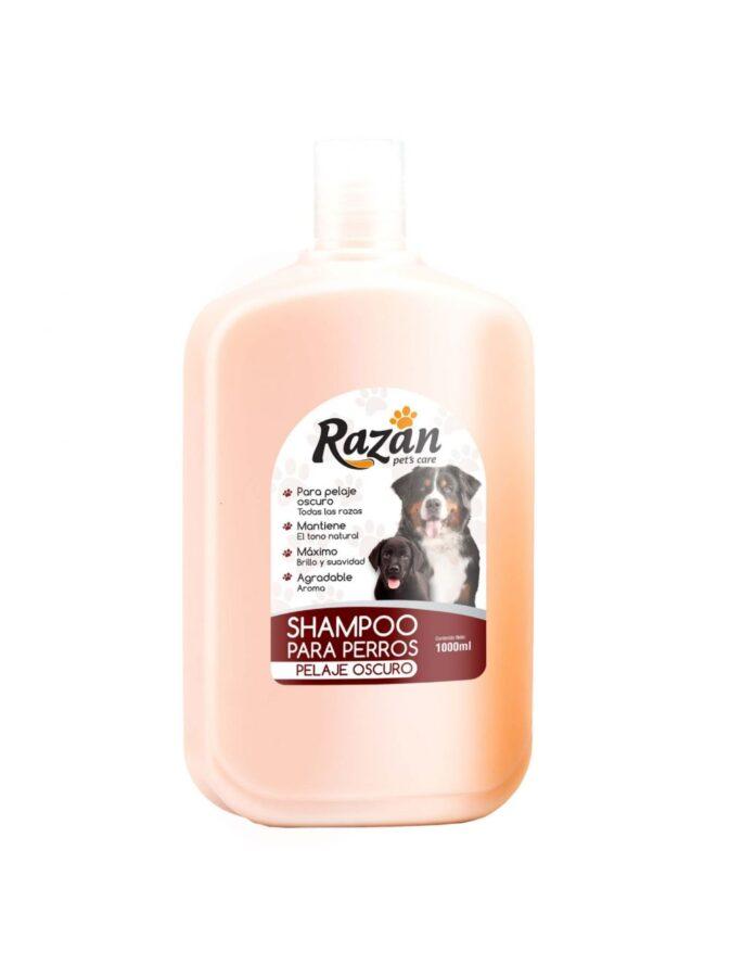 shampoo para mascotas pelajes oscuros