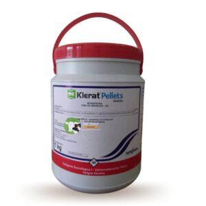 rodenticida anticoagulante klerat pellets