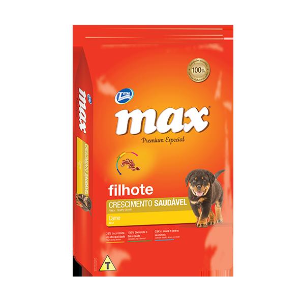 Max Premium Especial Cachorros Carne
