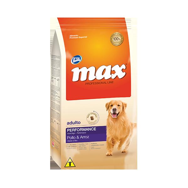 Max Professional Line Performance Adulto Pollo Arroz