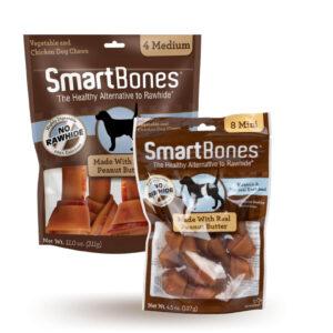 Smartbones peanut butter