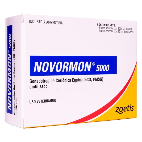 Hormona Novormon 5000 Zoetis