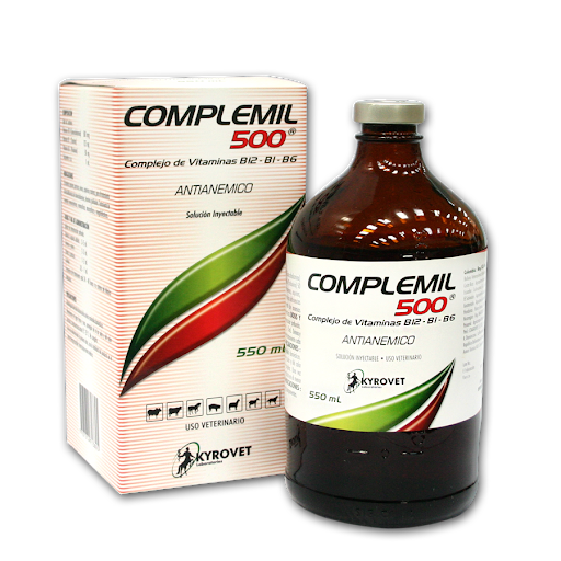 complemil 500 inyectable