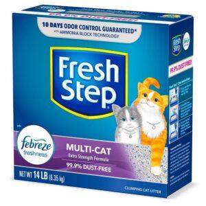 fresh step con Febreze