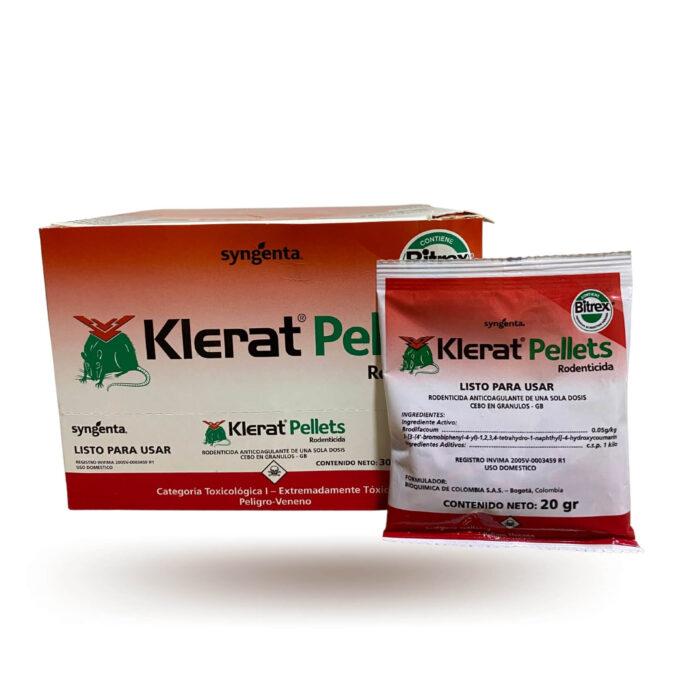 Klerat pellets sobre x 20 gr 1